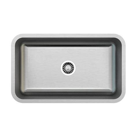 single basin stainless steel undermount kitchen sink kuisinox kx940 undermount 30 in stainless steel single