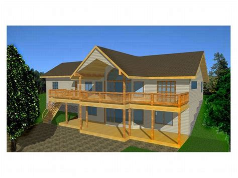 house plans for sloping lots house plans view sloping lot