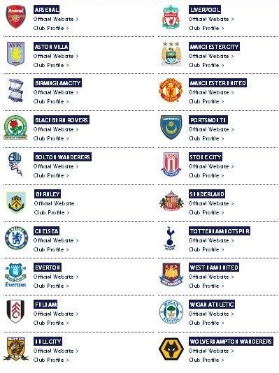 jadwal liga inggris republik master oos jadwal liga inggris lengkap epl 2010