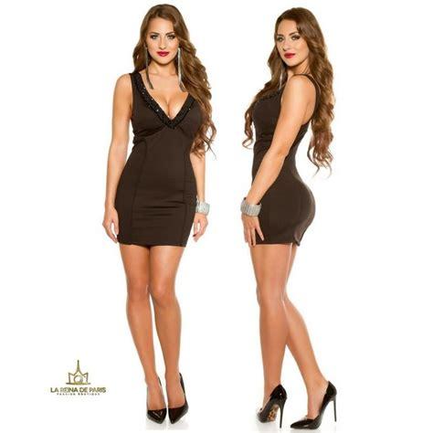 vestidos de fiesta negro corto comprar vestido de fiesta corto escotado negro online