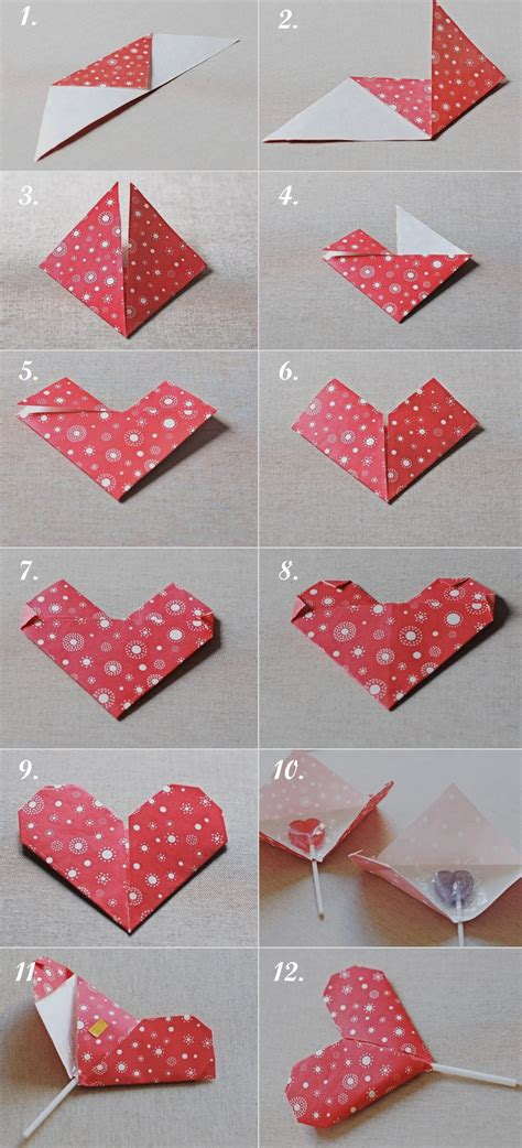 origami valentines day diy origami s favor gift pinpoint