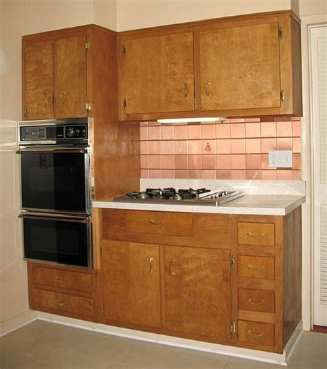 woodworking kitchen cabinets wood kitchen cabinets in the 1950s and 1960s quot unitized