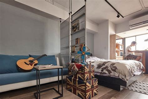 small loft tiny industrial loft style apartment in taipei city