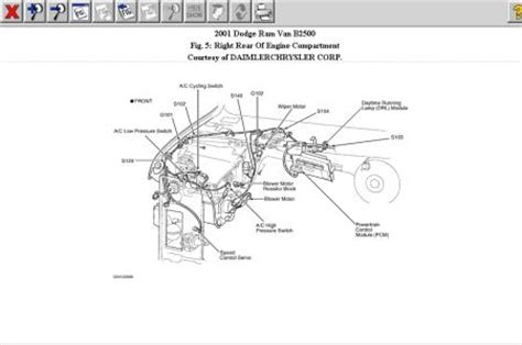 dodge caravan o2 sensor wiring diagram in addition 2001 wiring diagram odicis