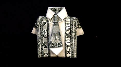 origami shirt folding origami doodlecraft origami money folding shirt and tie