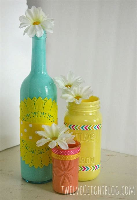 glass bottle crafts for 17 best ideas about painted glass bottles on