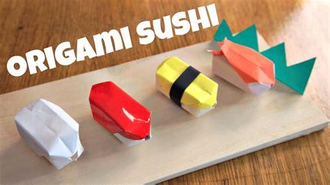 sushi origami diy origami sushi