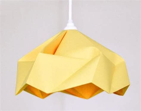 custom origami paper custom origami paper l shade by fiber lab lighting