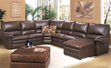 sectional sofas leather leather sectional sofas plushemisphere