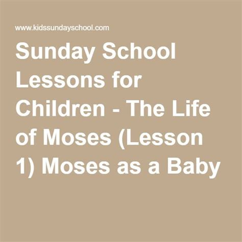 sunday school lessons and crafts for 1000 ideas about baby moses on baby moses