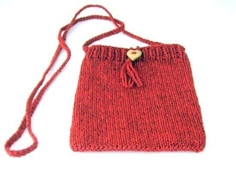 Knit Purse Bag By Arly Knitting Pattern