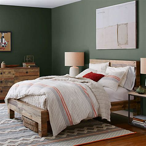west elm chunky wood bed frame buy west elm emmerson bed frame lewis