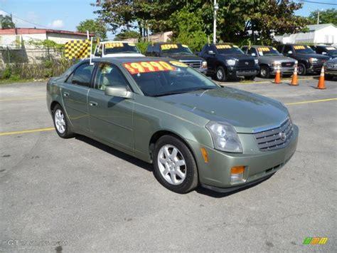 Green Cadillac Cts 2004 silver green cadillac cts sedan 40302751 gtcarlot