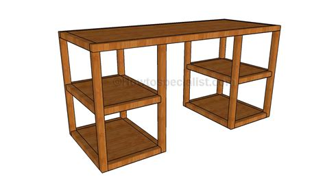 desk plans desk woodworking plans howtospecialist how to build