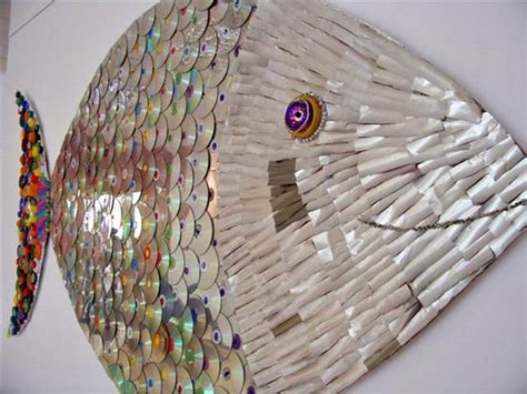 recycled crafts projects 24 brilliant upcycled cd crafts ideas for home decoration