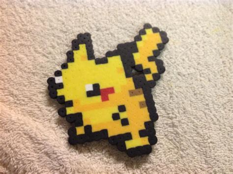 pikachu perler pikachu perler bead by reflectiveless on deviantart