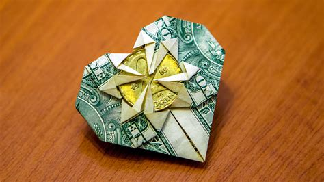 money origami how to origami how to fold a dollar into a with pictures