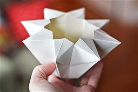 origami paper lantern make an origami lantern how about orange