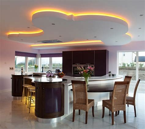 best kitchen lights unique led lighting for modern kitchen decorating ideas