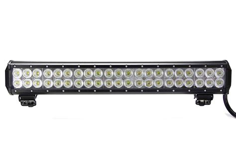 bar led lights vortex series led light bar 20 inch 126 watt combo