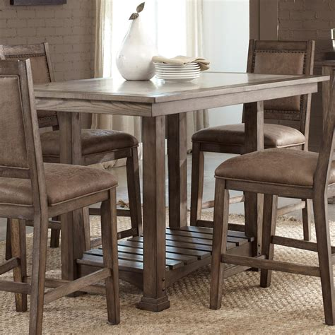 kitchen island table with chairs liberty furniture brook casual cement top kitchen island table wayside furniture pub