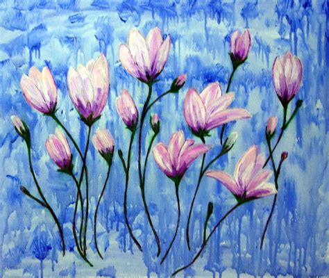 acrylic painting easy flower acrylic painting ideas for beginners acrylic painting