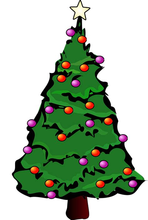 green decorated tree free vector graphic tree green decorated