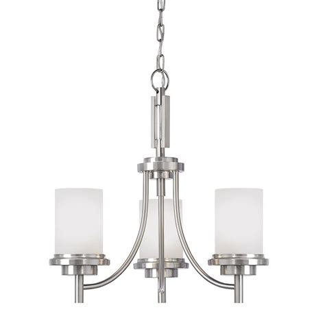 winnetka lights sea gull lighting winnetka 3 light brushed nickel