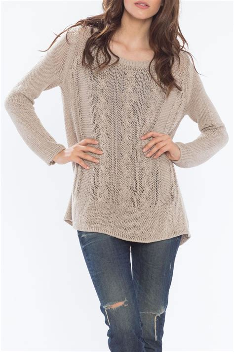 cable knit tunic wooden ships cable knit tunic from massachusetts by