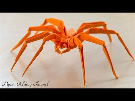 how to make origami spider origami spider
