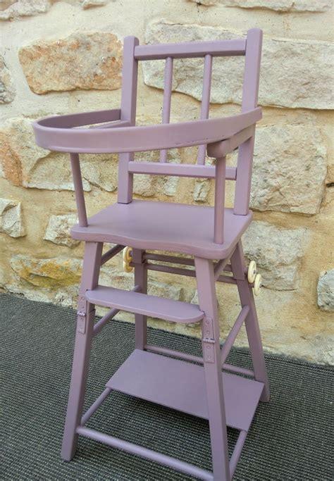 chaise haute pour poupee violine atelier darblay le meuble d 224 c 244 t 233