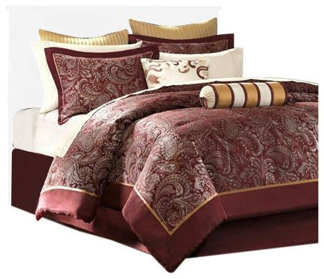 12 comforter sets jacquard comforter 12 set with piping comforters
