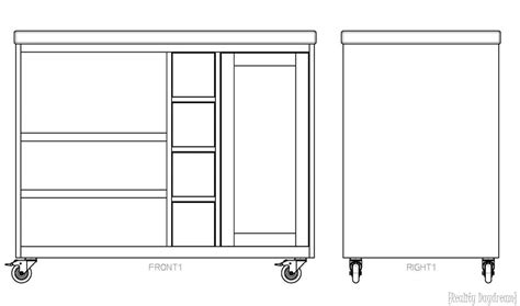 how to build a movable kitchen island how to build a movable kitchen island 28 images brown
