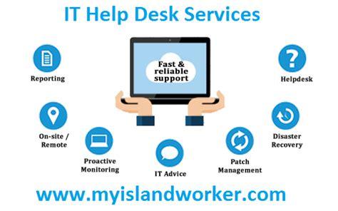 it help desk outsourcing it help desk services myislandworker