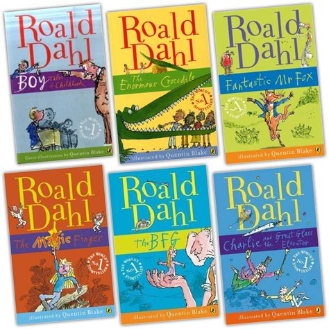 pictures of roald dahl books roald dahl collection 6 books set pack new rrp 163 45 08 ebay