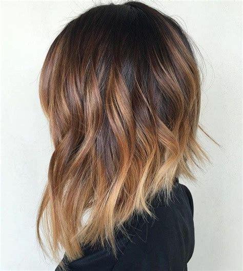 hair cut with a defined point in the back die besten 25 ideen zu long bob ombre auf pinterest