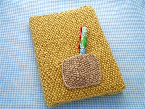 knitted book cover pattern free how to knit a book cover mollie makes