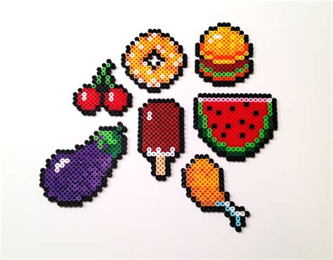 food perler food perler hama