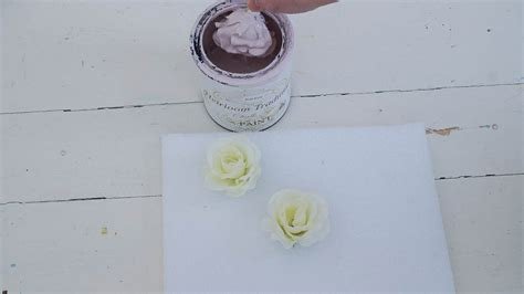 diy heirloom chalk paint porcelain roses from chalk paint white lace cottage