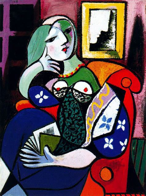 picasso paintings the with a book pablo picasso biblioklept