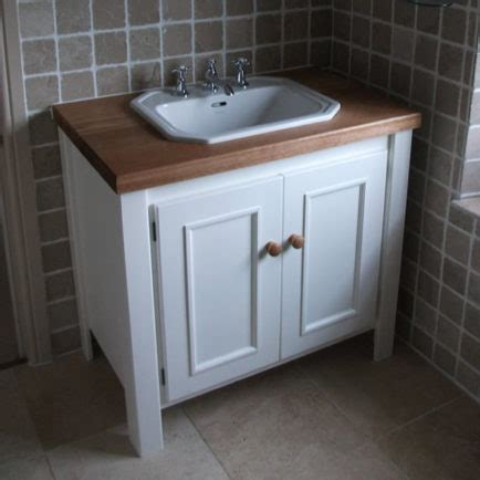 bathroom vanity unit with sink white vanity unit with solid oak top aspenn furniture