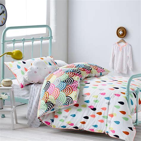 childrens bedroom bedding sets adairs rainbow confetti ella s bedroom