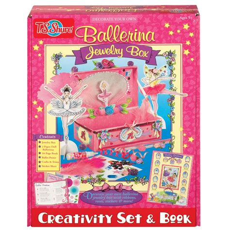 crafting kits for ballet jewelry box craft kit educational toys planet