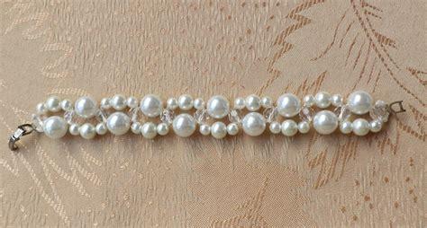 free beaded bracelet patterns free pattern for beaded bracelet clarity magic