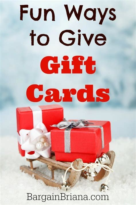 best 28 ways to give gift cards for 15