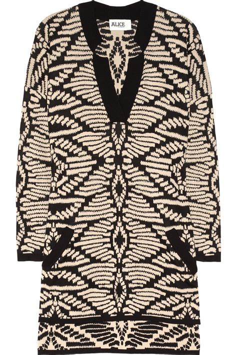 jacquard knit by temperley ricardo jacquard knit cotton sweater