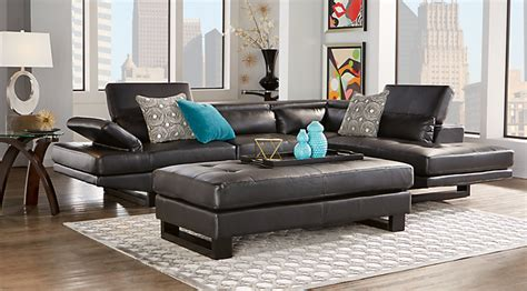 leather sectional living room furniture leather living room furniture sets black white brown