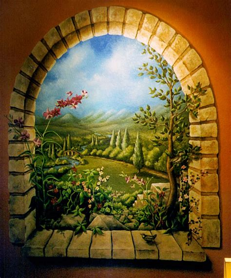 25 beautiful wall mural paintings from top artisits around