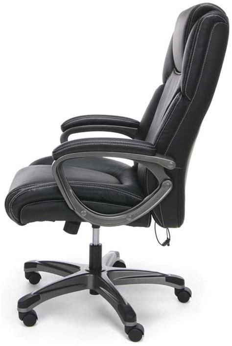 Shiatsu Office Chair by Heated Shiatsu Leather Office Chair