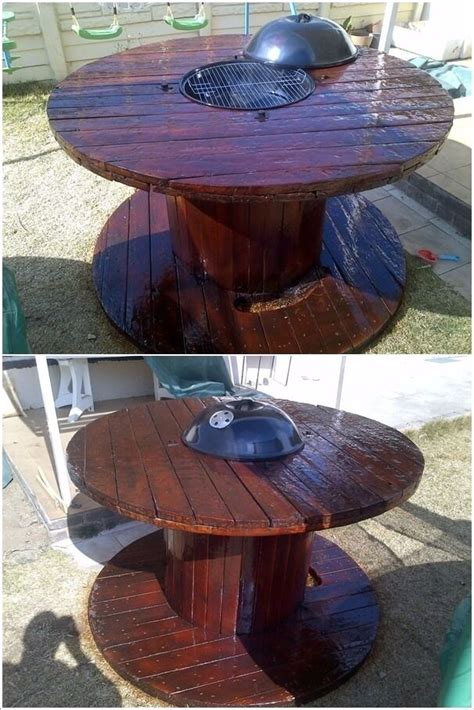 cable coffee table best 20 cable reel table ideas on cable reel